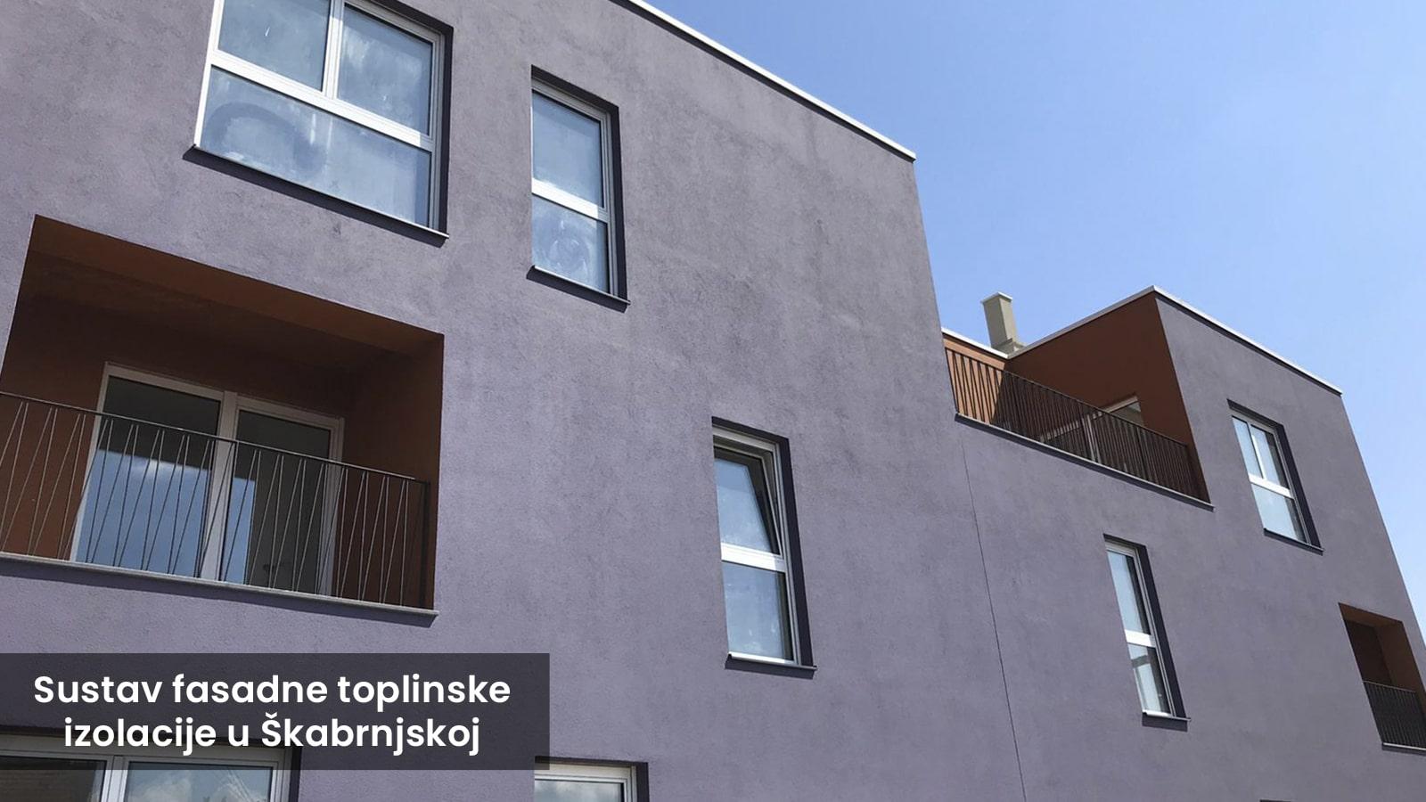 Sustav Fasadne Toplinske Izolacije U Škabrnjskoj